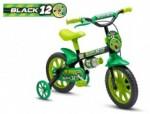 Bicicleta Aro 12 Masculina - Black 12