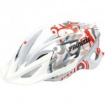 Capacete Prowell F-59 Red Ripples