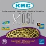 Corrente KMC X10 SL Gold - 10 Velocidades