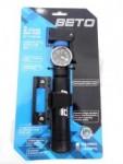Mini Bomba de Ar Beto de Nylon com Manômetro 120psi - CLD030PG